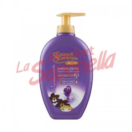 Spuma di Sciampagna sapun cu extracte de ametista si orhidee-250ml